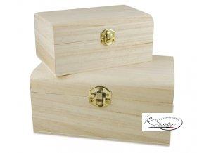 Dřevěná krabička 34618 18x11,5x8 cm