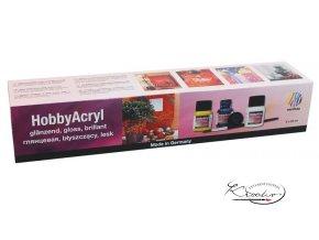 Hobby Acryl brillant 6x20 ml