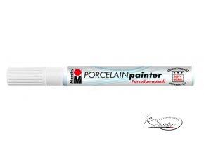 Porcelain painter - 070 / M - Bílý