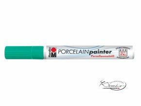 Porcelain painter - 153 / M - Zelený mátový