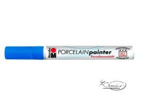 Porcelain painter - 142 / M - Modrý hořec