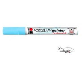 Porcelain painter - 141 / M - Modrý blankytný