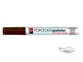 Porcelain painter - 295 / M - Hnědý
