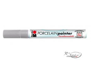 Porcelain painter - 082 / M - Stříbrný