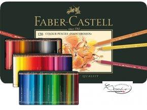 Pastelky Faber-Castell Polychromos 120 ks