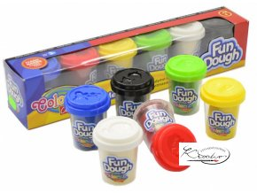 Modelovací hmota - Colorino Fun Dough 6 x 56g