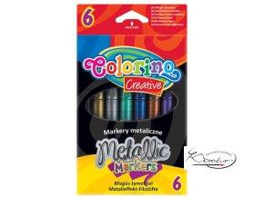 Popisovač metalický Colorino 6ks