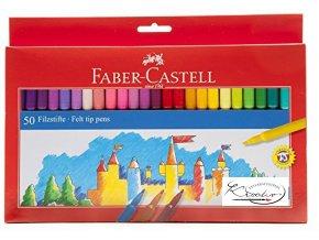 Popisovače Faber-Castell 50ks