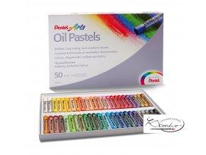 Pentel Arts Oil Pastels 50