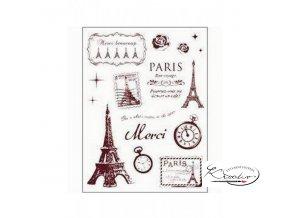 Gelová razítka - Paříž