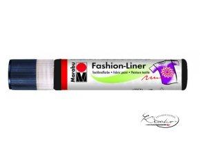 Textilní liner 25ml - černý