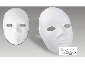 Karnevalové kostýmy - Maska papírová celoobličejová