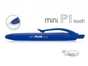 Propiska Milan P1 Mini Touch - modrá