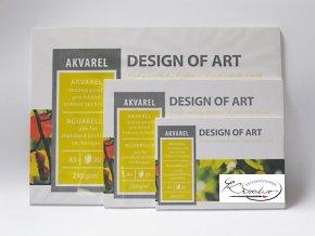 Akvarelové bloky - Design of Art