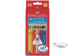 Pastelky Faber-Castell Grip 24 - Aquarell Effect