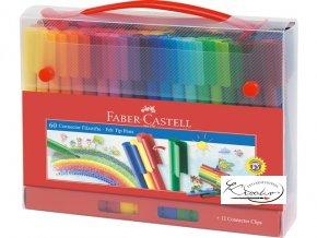 Faber-Castell 60 ks popisovačů v dárkovém balení
