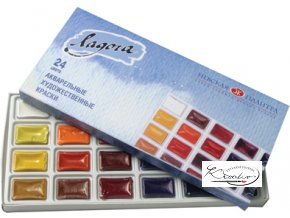 Akvarelové barvy Ladoga 24