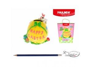 Paulinda modelovací hmota pokladnička Happy Easter