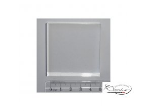 Akrylový blok pro gelová razítka 51x51x10mm