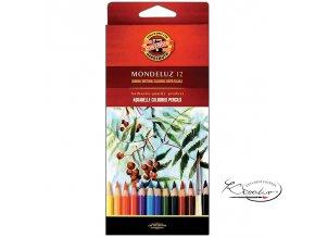 Akvarelové pastelky Mondeluz 12