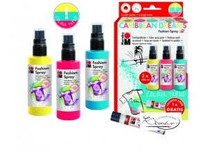 Barvy na textil Sada Fashion Spray Caribbean Dreams