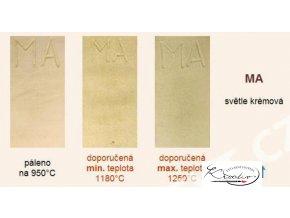 Keramická hlína MAM - šamotová bílá hrubá 10kg