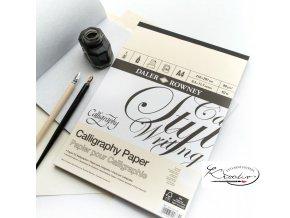 Blok kaligrafický Daler Rowney A4