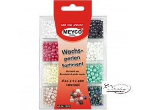Plastové perličky 1200 ks