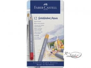 Akvarelové pastelky Goldfaber Aqua Faber-Castell 12
