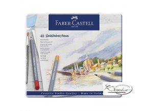 Akvarelové pastelky Goldfaber Aqua Faber-Castell 48