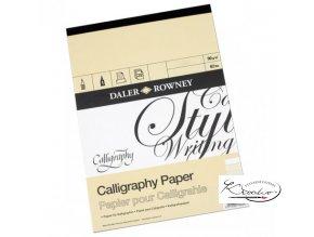 Blok kaligrafický Daler Rowney A3