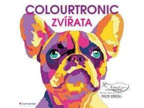 Antistresové omalovánky - Colourtronic Zvířata