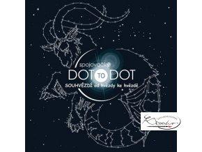 Antistresové omalovánky - Spojovačky Dot to Dot Souhvězdí