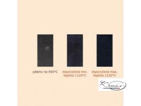 Keramická hlína RB - černá, burelová 10kg