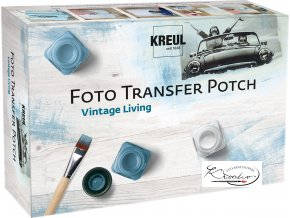 Foto Transfer Potch sada Vintage Living