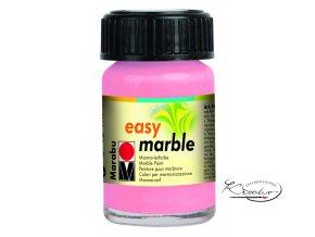 Mramorovací barva easy marble 15ml 033 Růžová