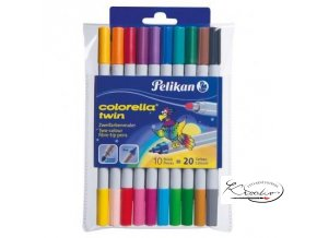 Fixy Pelikan Colorella Twin 10/20