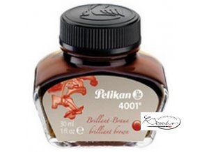 Inkoust brilantní Pelikan 30ml - Hnědý