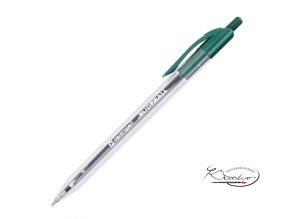 Kuličkové pero Centropen Slideball 0,3 mm - zelené