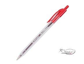 Kuličkové pero Centropen Slideball 0,3 mm  - červené