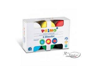 Prstové barvy Primo 6x50g