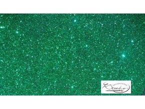 Glitterový pudr 20g - zelený
