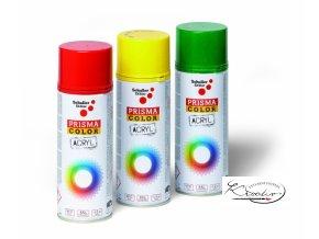 Prisma Color Acryl Lack spray 91022 - Ohnivě červená