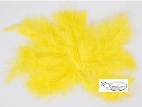 Peříčka 10g - žlutá