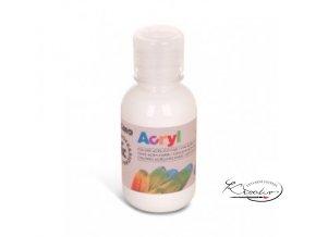 Akrylová barva Primo 125 ml - bílá