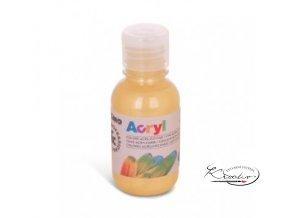 Akrylová barva Primo 125 ml - zlatá