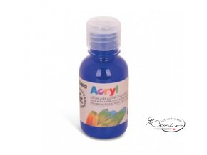 Akrylová barva Primo 125 ml - modrá