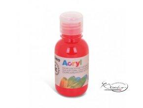 Akrylová barva Primo 125 ml - červená