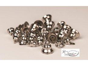 Zvonečky dekorační 30ks - stříbrné