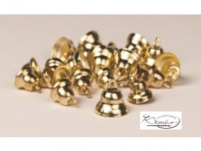 Zvonečky dekorační 30ks - zlaté